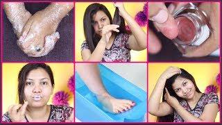 Top 10 Best skin care and hair care tips for winter/crack heels,dry lips,dandruff,split ends & more
