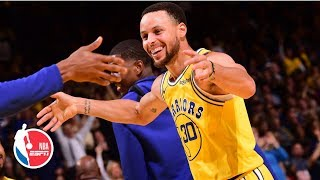 DeMarcus Cousins, Steph Curry lead Warriors' balanced attack vs. Pacers | NBA Highlights
