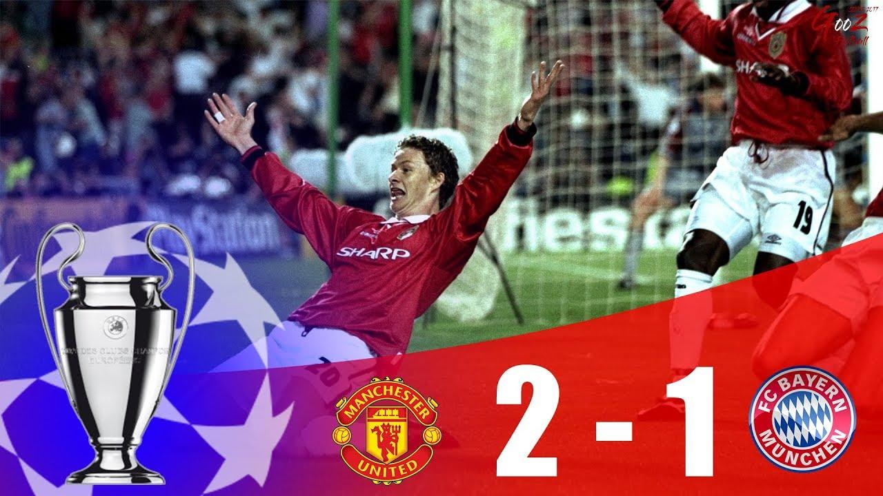 Manchester United Vs Bayern Munich Champions League Final 1998 99