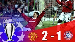 ... this is manchester united vs bayern munich - champions league final 1998/99 | hd. ?...