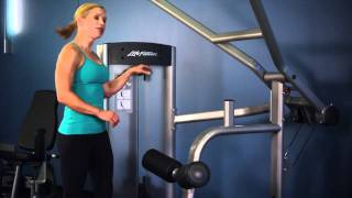 Life Fitness Optima Series Lat Pulldown Instructions
