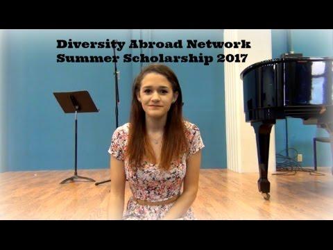 Diversity Abroad Network Summer Scholarship 2017