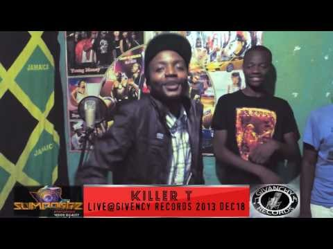 Killer T freestyle- Givanchy records (Official HD By Slimdoggz Entertainment)