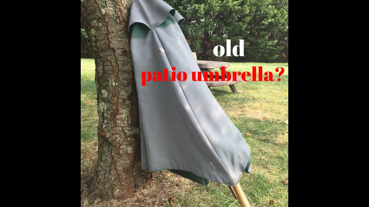 Painted Umbrella Diy Easy Refresh For An Old Faded Outdoor