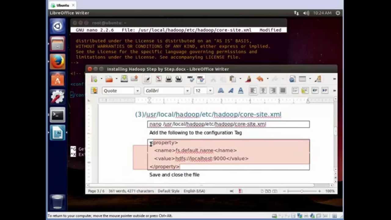 How to: Install Hadoop (as Single Node) on Ubuntu Step by Step In ...