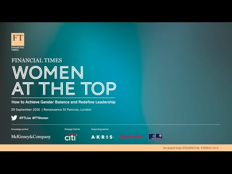 FT Women At The Top Summit 2016