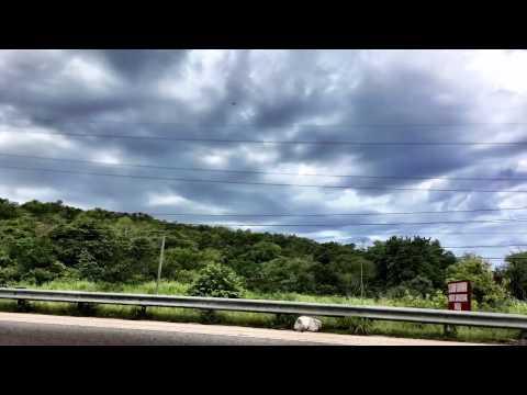 Road from Port Antonio to Montego Bay Jamaica