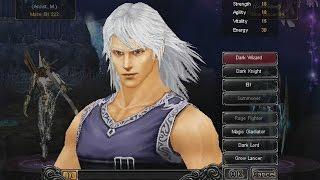 Classe Dark Wizard - MU Online