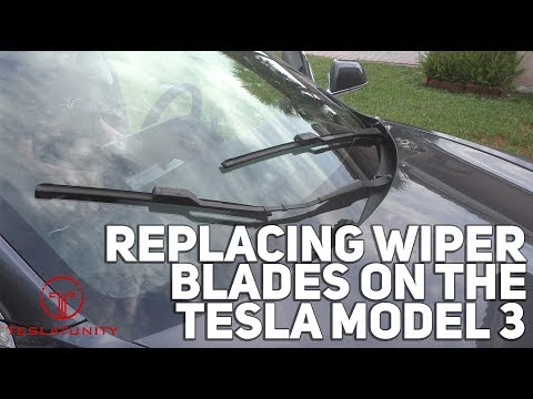 Replacing Wiper Blades on the Tesla Model 3