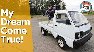 My $4400 Imported 1991 Japanese Mini Truck!