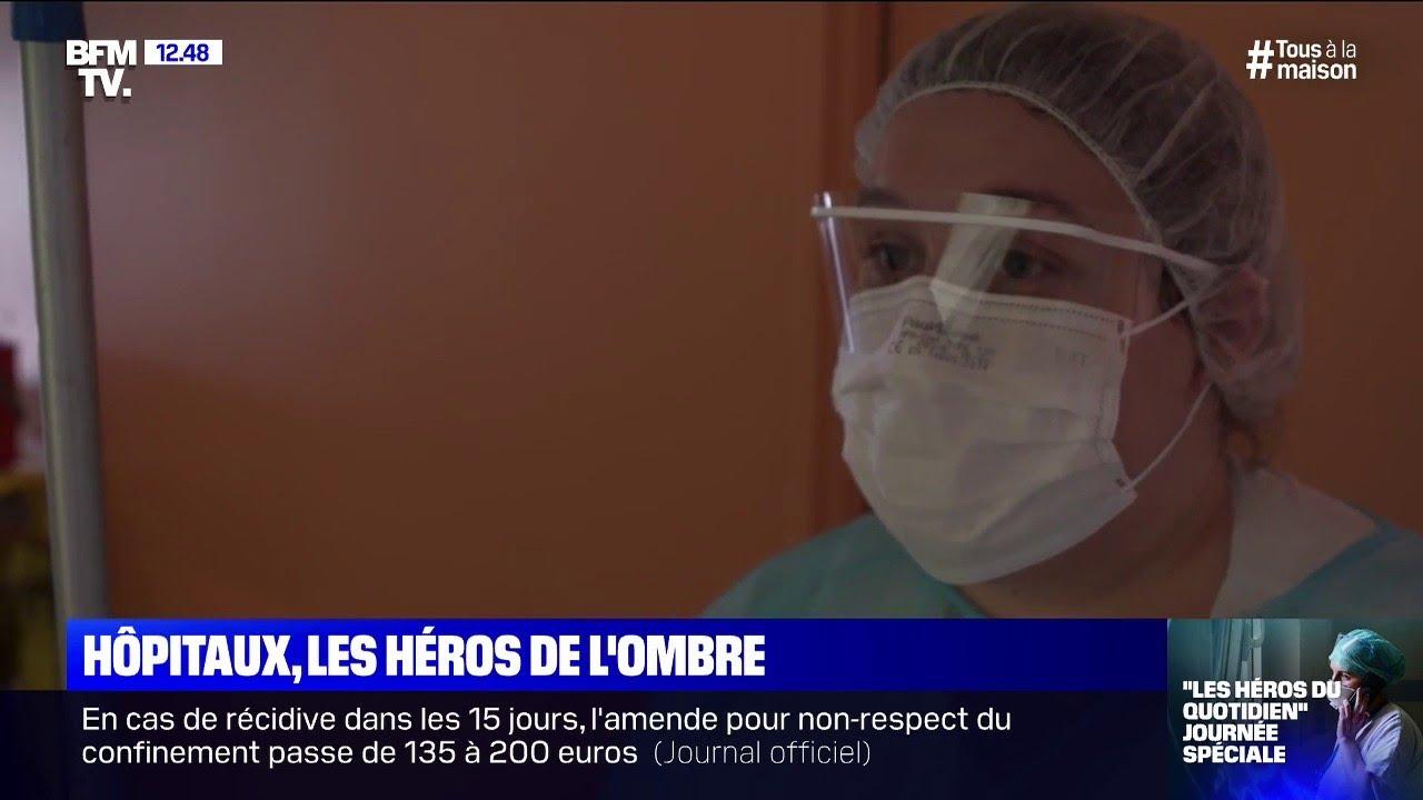 Logistique, cuisine, ménage: les héros de l'ombre des hôpitaux