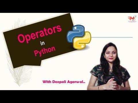 #15 Operators in Python | Identity & Membership Operators | PyCharm | Hindi thumbnail