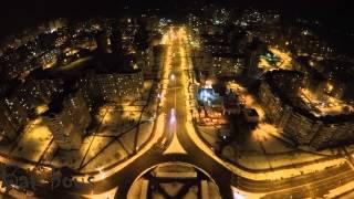 Самый жуткий район. Киев | Kyiv Ukraine | Drone | GoPro 4