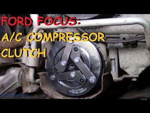 Ford Focus: A/C Compressor Clutch