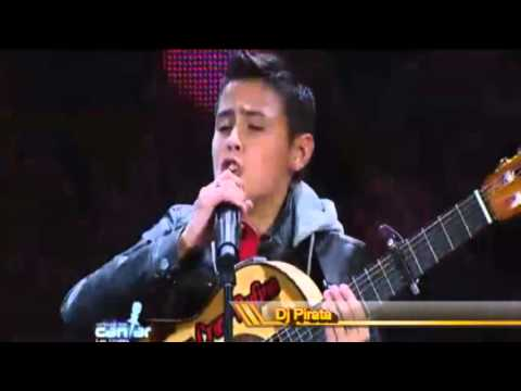 Soñando por cantar 2013 Juan Cruz Rufino Perdoname