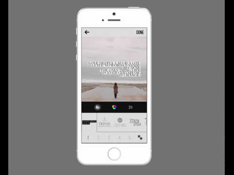 """iPhoneography: Type filters create interesting type art instantly with """"Wordswag"""""""