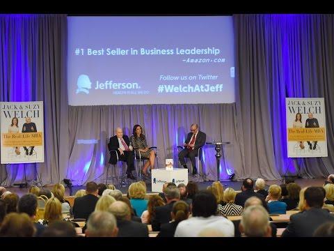 Jack & Suzy Welch at Jefferson - PM conversation