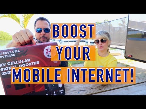 Boost Your Mobile Internet! | weBoost Drive 4G-X RV Cellular Booster | Changing Lanes!