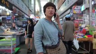 [4K] 부산 부평깡통시장 - Walking around Bupyeong(Kkangtong) Market, Busan, Korea