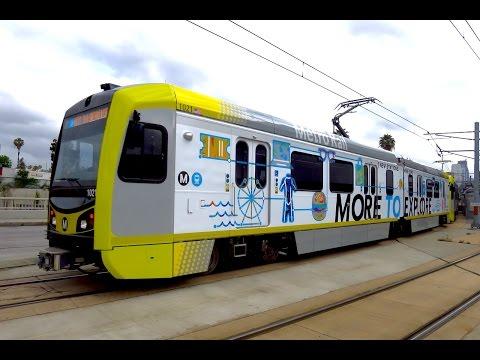 Metro Expo Line - VIP Train - 5/20/16 - 4K