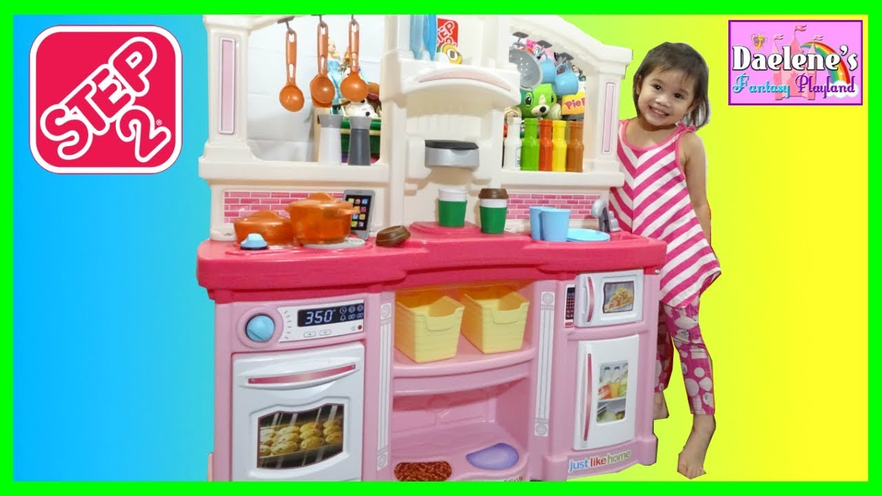 Step 2 Toy Food : Cooking food toys step kitchen just like home fun with