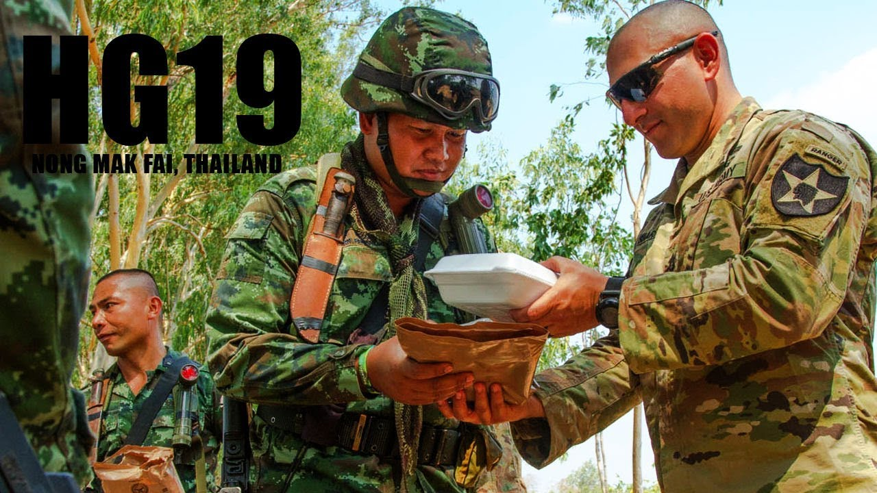 US Army and Royal Thai Army Exercise Hanuman Guardian19 IN Thailand