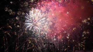 Fireworks finale at the 2017 Solon fireworks show