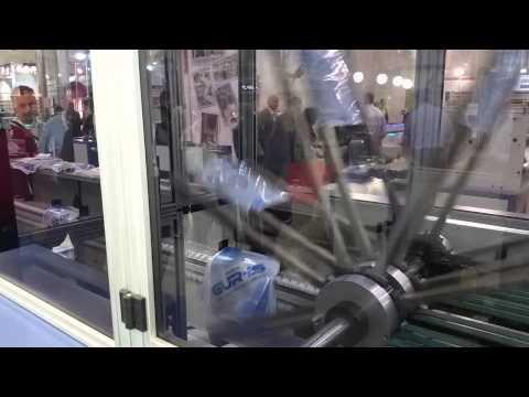 WT-850 GP WICKET SYSTEM GLUE PATCH HANDLE BAG MAKING MACHINE