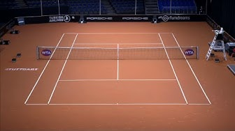 Porsche Tennis Grand Prix - Tag 2 (Court 1) | WTA Stuttgart LIVE | Tennis | DAZN