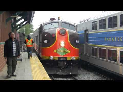 Train ride on the Saratoga North Creek Railway with cab tours, and rare locomotives