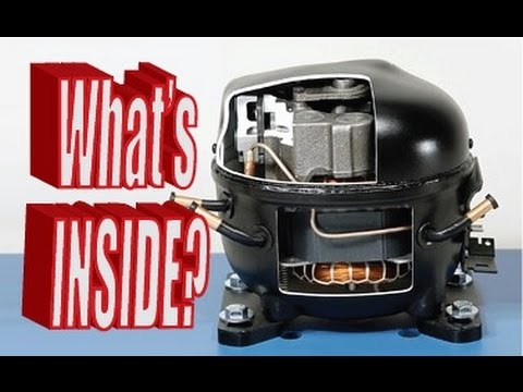 What's inside a Refrigerator Compressor