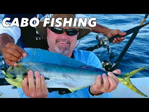 Offshore Fishing In Cabo San Lucas, Mexico