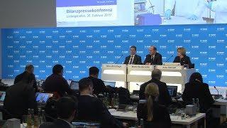 Schweres Marktumfeld - BASF präsentiert  Bilanz für 2018