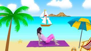 Bài tập Yoga cho trẻ em: CHO MẮT SÁNG, CHỮA GÙ LƯNG [PHẦN 2]