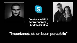 Entrevista Pedro Cabrera y Andrea Giraldo