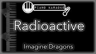 Radioactive - Imagine Dragons - Piano Karaoke Instrumental