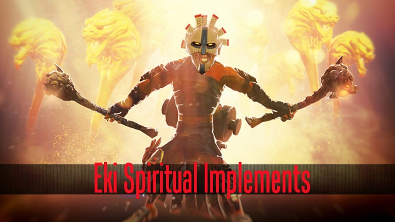 dota 2 store shadow shaman eki spiritual implements set youtube