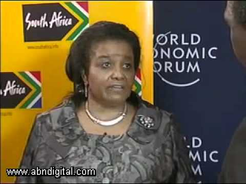 Edna Molewa - Minister, Water and Environmental Affairs