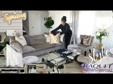HOME  DECOR STYLING || House Cleaning 🧹 || New Pups