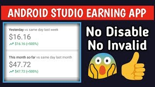 Earning Flast | Android Studio | Earning App In Android Studio | Hindi