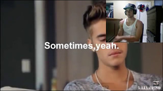 THE REAL JUSTIN BIEBER (Reaction)