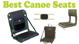how to fit canoe seats
