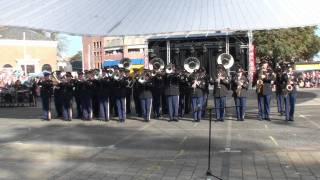 2-10-2011 United States Army Band Europe taptoe Leiden