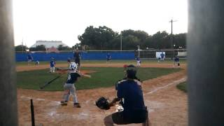 Indians team coby vallee home run