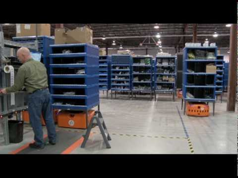 Kiva Systems Warehouse Automation at  Quiet Logistics