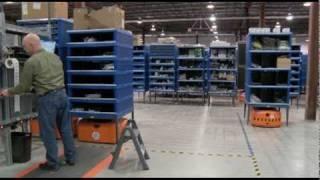 Kiva Systems Warehouse Automation at  Quiet Logistics