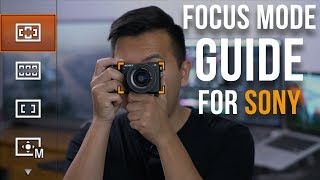 Sony Video AutoFocus Tutorial for a7III a7RIII a9 a7RII a7SII a6000 a6300 a6400 a6500