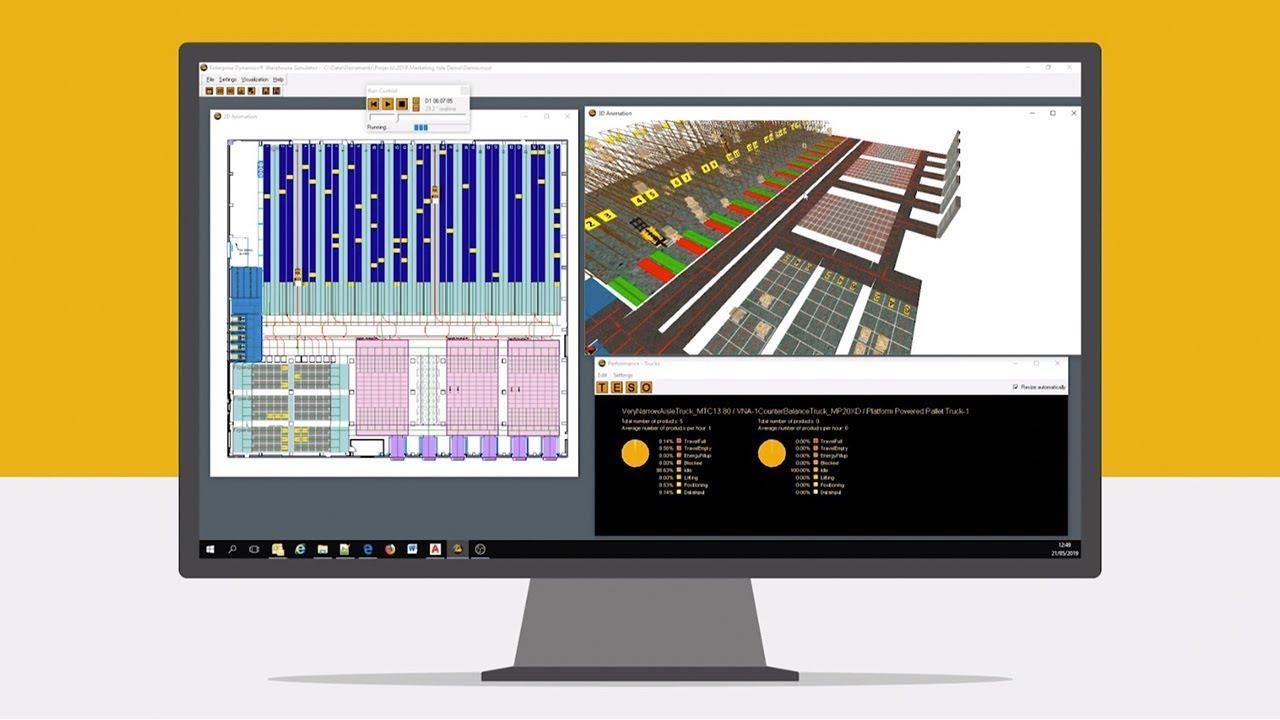 Yale Warehouse Simulator - Steigern Sie die Produktivität in Ihrem Lager