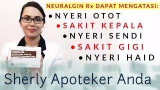 Obat Penghilang Nyeri Otot, Sakit Kepala, Nyeri Sendi Dan Nyeri Haid   Neuralgin Rx