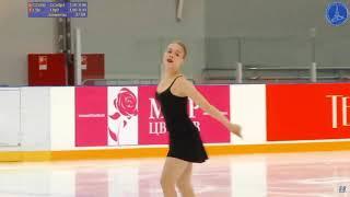 Anastasiia GUBANOVA Senior Ladies Short Program 9 Russian Cup 3rd Stage 2019 11 2